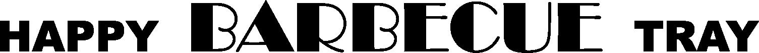 Logo Happy BBQ Tray